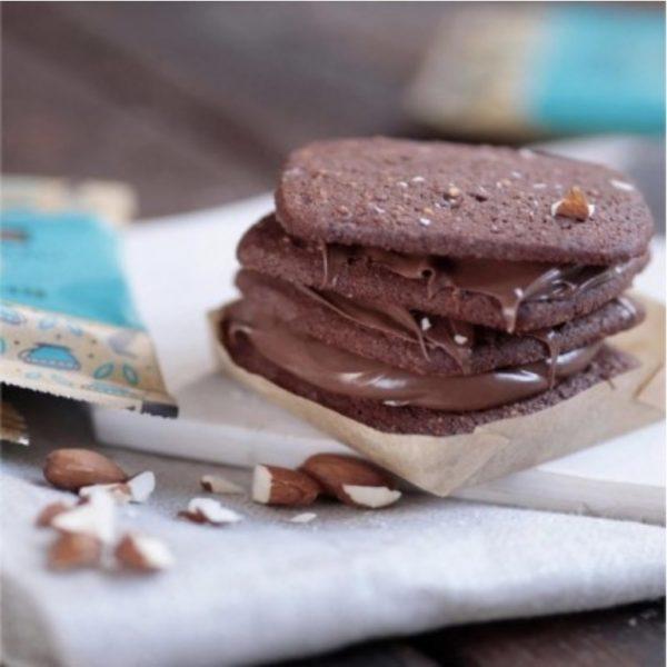 biscuit au chocolat et noisette de la marque Rhythm 108